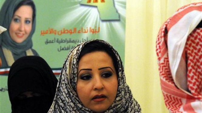 Thekra Al Rasheedi, kandidat anggota parlemen di Kuwait