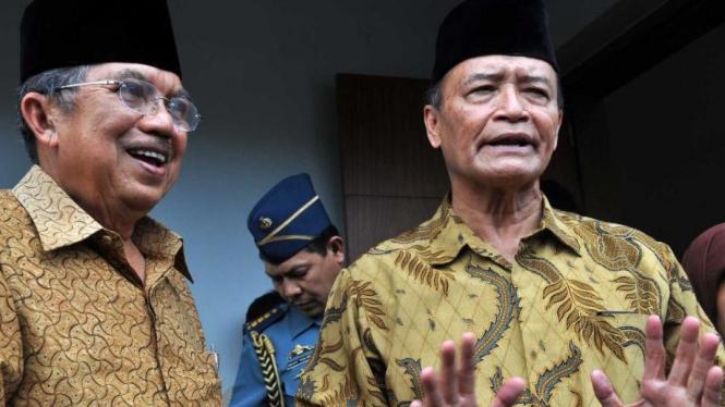 Jusuf Kalla dan Ahmad Syafii Maarif