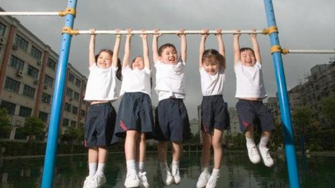 Anak olahraga di sekolah