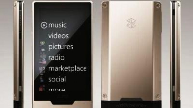 Pemutar media portabel Zune HD