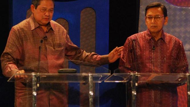Dialog Kebudayaan bersama Capres-Cawapres : SBY-Beodiono
