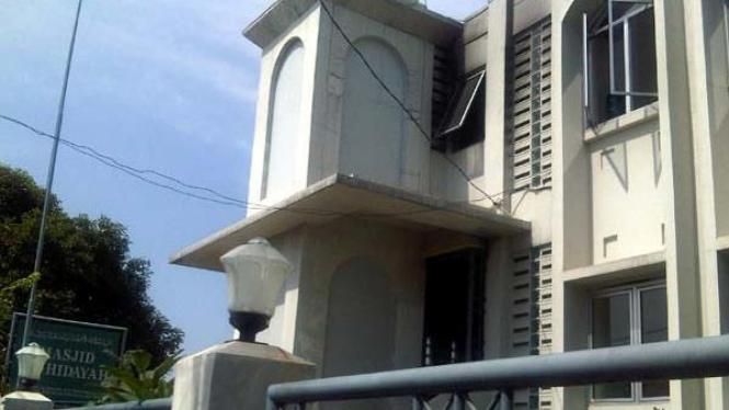 Masjid Ahmadiyah yang nyaris dibakar di Kebayoran Lama