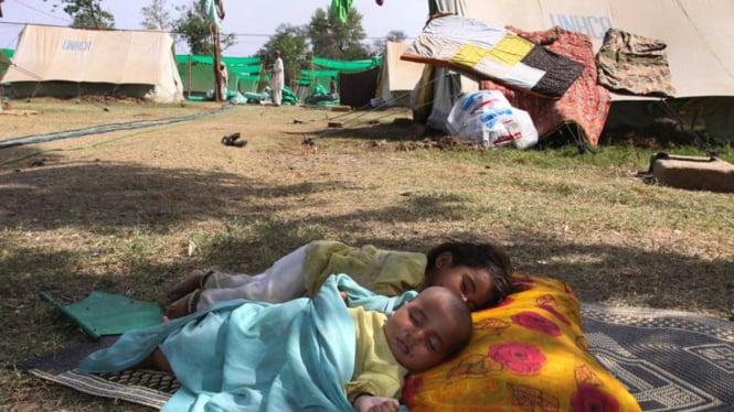 Pengungsi Anak akibat Konflik Pakistan - Taliban