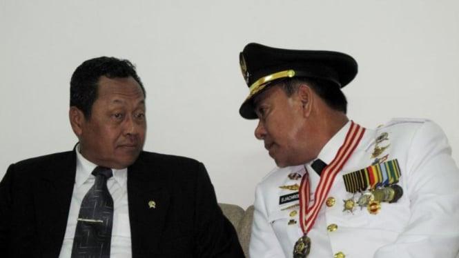 Mendagri Mardiyanto & Gubernur Lampung Sjachroedin ZP