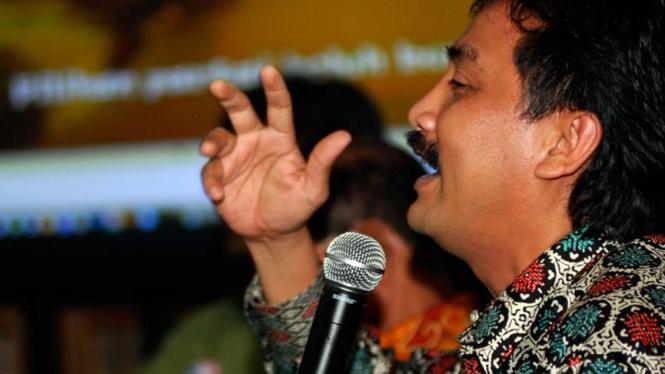 Tim Nasional Kampanye SBY-Boediono Bicara Hasil Survey : Andi Mallarangeng