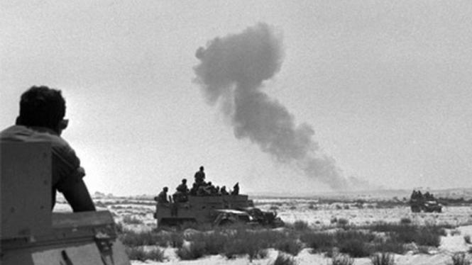 Pasukan Israel dalam kampanye Perang Enam Hari