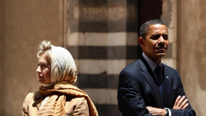 Obama dan Clinton di Mesir