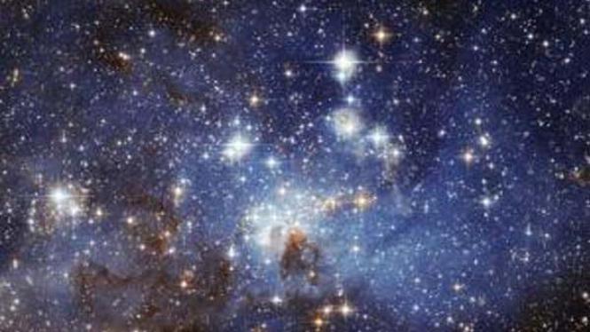 Bayi bintang di pusat galaksi Bimasakti