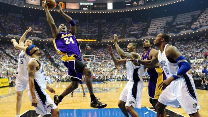 Lakers Rengkuh Cincin NBA