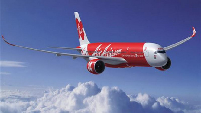 Airbus A350-900 milik maskapai penerbangan Air Asia