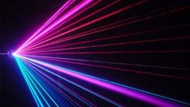 Ilustrasi/Sinar laser