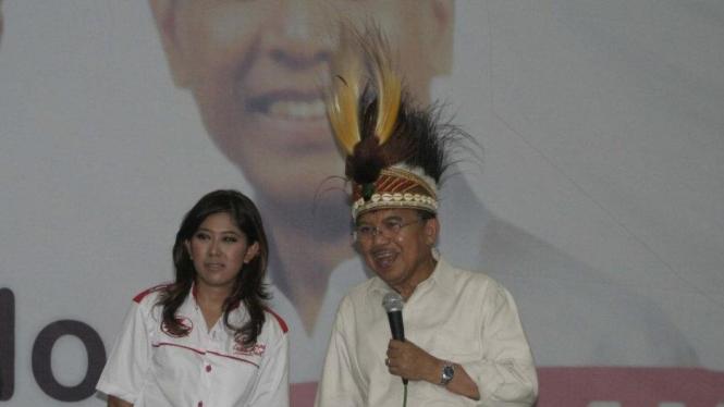 Meutya Hafid dan Jusuf Kalla