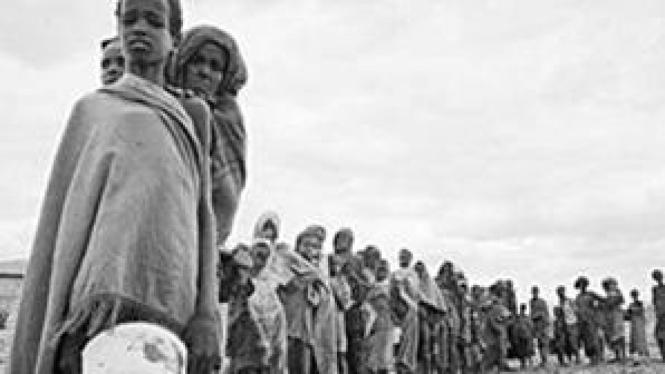 Warga kelaparan di Somalia, Afrika