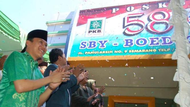 PKB Jawa Tengah resmikan Posko 58 Dukung SBY-Boediono