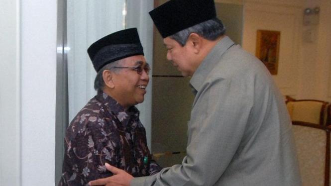 SBY dan Ketua Umum LDII Abdullah Syam