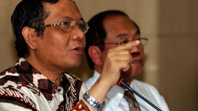 Sengketa Pemilu 2009 : Mahfud MD