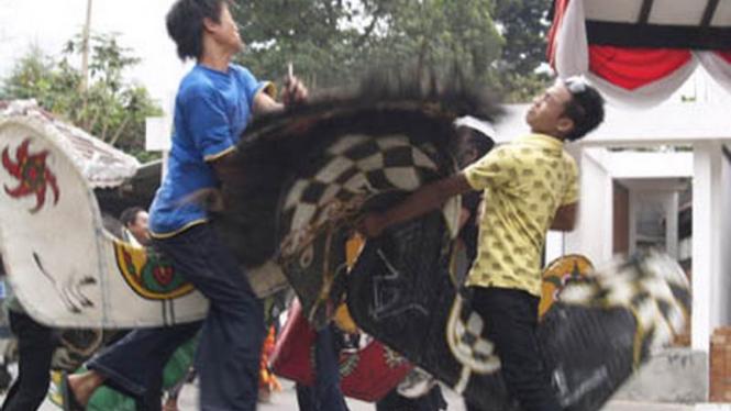 Kesenian Kuda Lumping di Kota Batu, Jawa Timur
