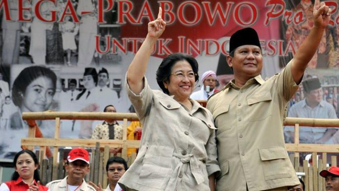 Megawati & Prabowo Subianto kampanye akbar di Gelora Bung Karno