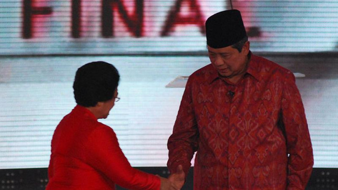 Susilo Bambang Yudhoyono dan Megawati Soekarnoputri