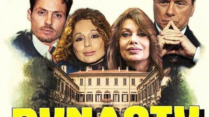 Keluarga Silvio Berlusconi (Piersilvio paling kiri)