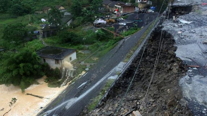 Banjir Di China