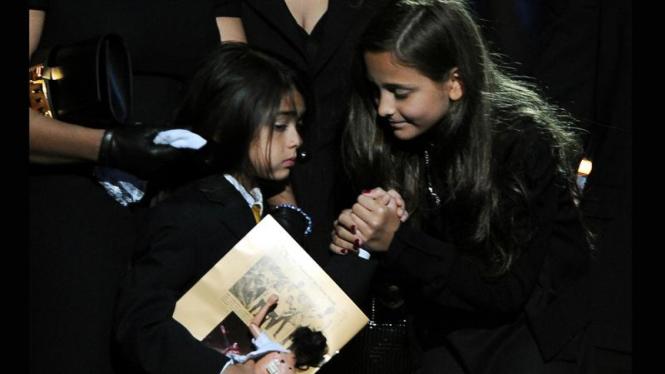 Anak-anak Michael Jackson: Paris dan Prince Michael II