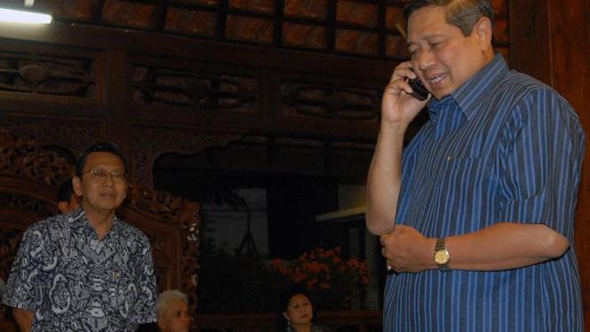 SBY Terima Ucapan Selamat