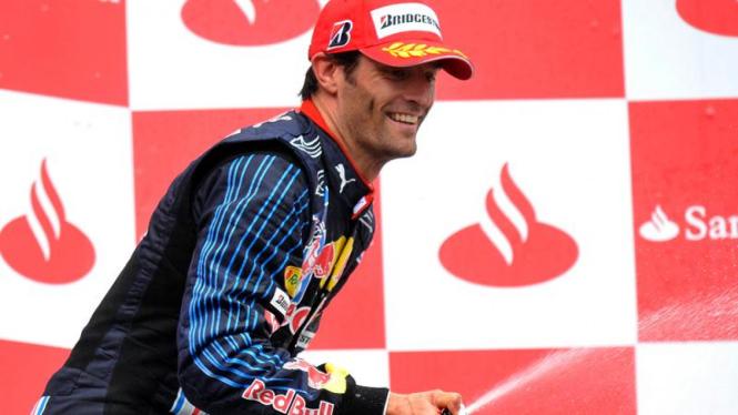 Jerman F1 GP: Mark Webber dari Red Bull