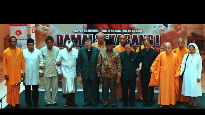 Doa Bersama Lintas Agama