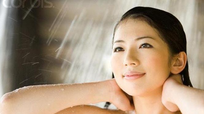 perawatan tubuh setelah mandi