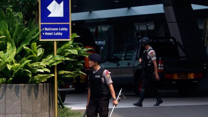 Ancaman Bom di Hotel Kempinski