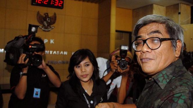 Baharuddin Aritonang di kantor KPK