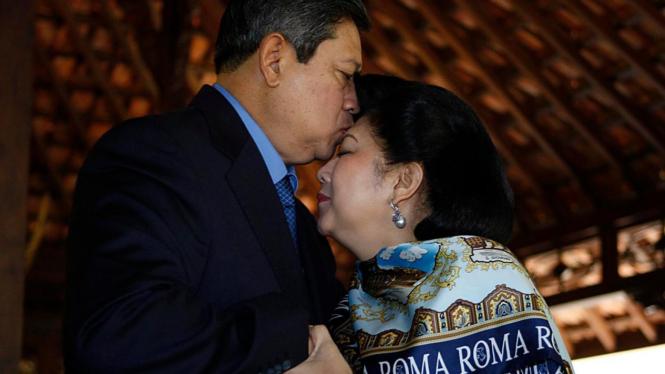 Susilo Bambang Yudhoyono (SBY) dan Ani Yudhoyono