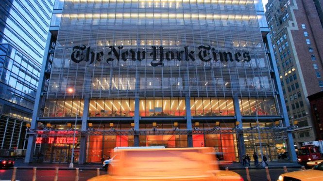 Kantor Pusat The New York Times
