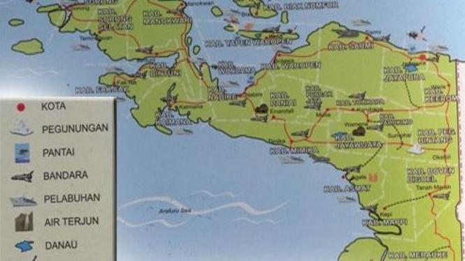 Papua dan Irian Jaya