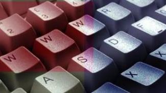 Ilustrasi situs pornografi di internet.