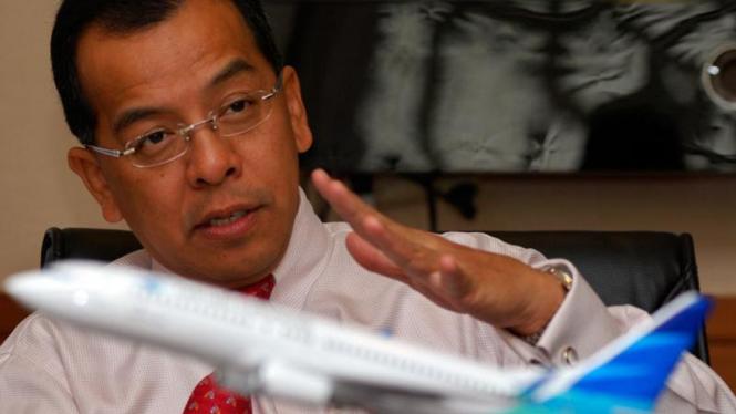 Mantan Direktur Utama PT Garuda Indonesia, Emirsyah Satar.