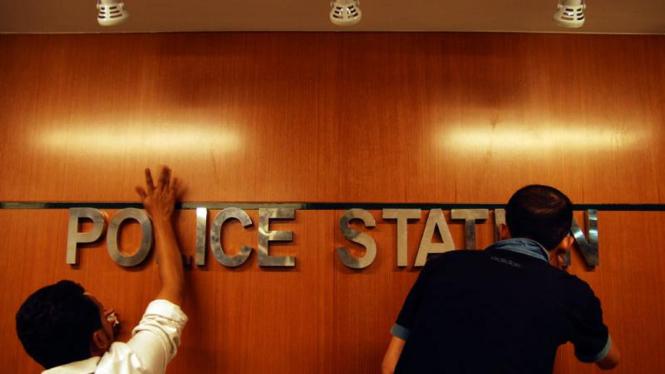 Persiapan Pos Polisi Terpadu