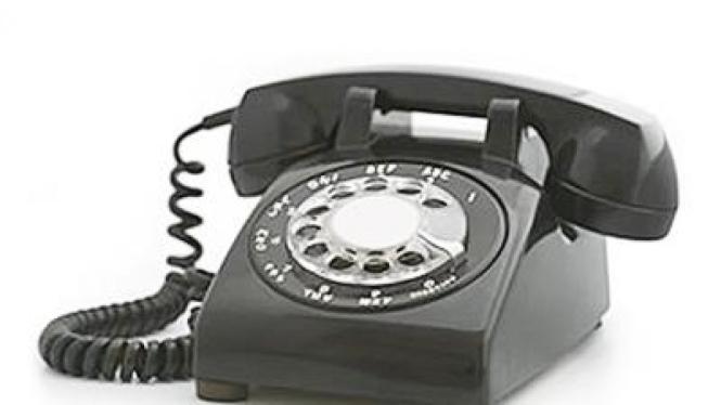 Ilustrasi pesawat telepon PSTN