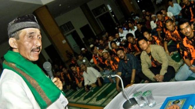 Johny Indo tabligh akbar di Padang