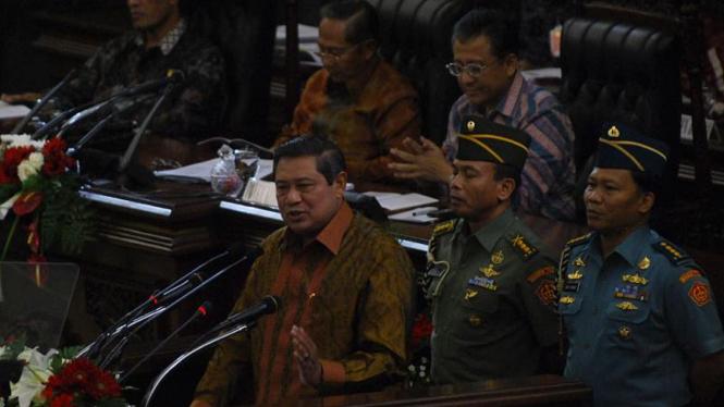 Pidato Presiden SBY di Paripurna DPD