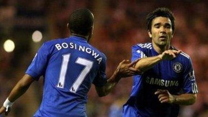 Deco (kanan) dan Jose Bosingwa
