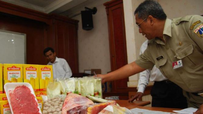 Razia Makanan Jelang Ramadhan