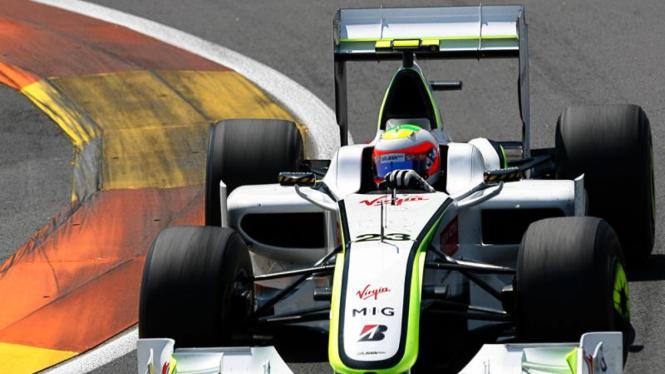 F1 European GP :  Rubens Barrichello
