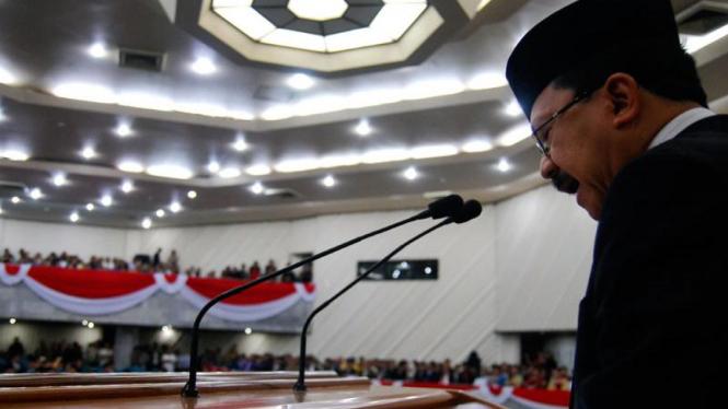 Pelantikan Anggota DPRD Jakarta : Fauzi Bowo