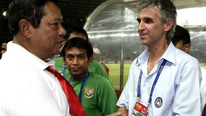 Ivan Kolev (kanan) & Presiden Susilo Bambang Yudhoyono