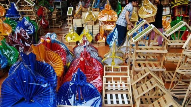 Produksi Keranjang Parcel Meningkat di Bulan Ramadhan