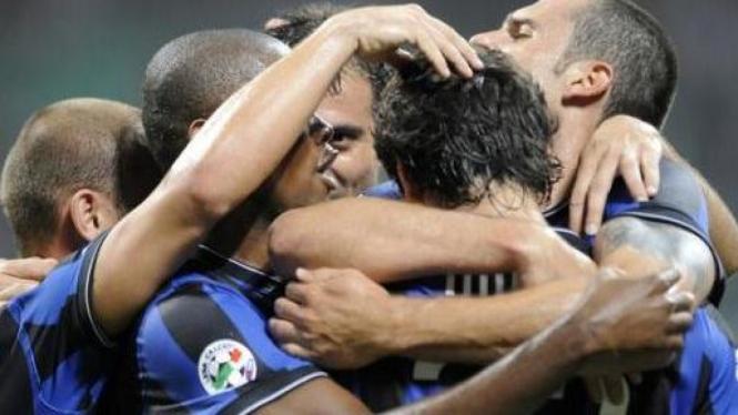 Selebrasi Inter Milan