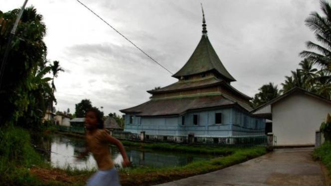Masjid Gadang Koto Nan Ompek di Payakumbuh