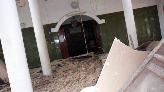 Suasana Gempa di Sukabumi